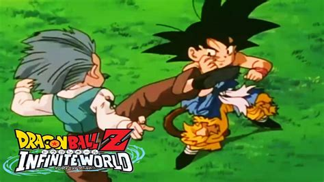 dbz infinite world goku gt  krillin   goodbye