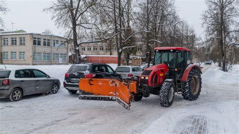 Informācija par pagalmu tīrīšanu 12.februārī - olaine.lv