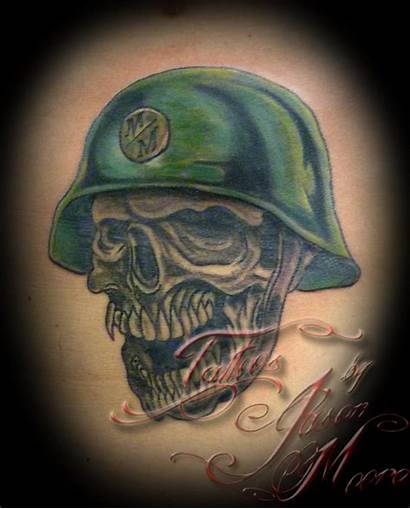 Helmet Tattoos Skull Tattoo Motorcycle Traditional Tattooideas