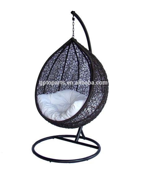 chaise oeuf rattan hanging egg swing chairs outdoor gazebo swing