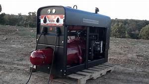 Lincoln Welder Sa200 Pipeliner K6090 All Copper Windings