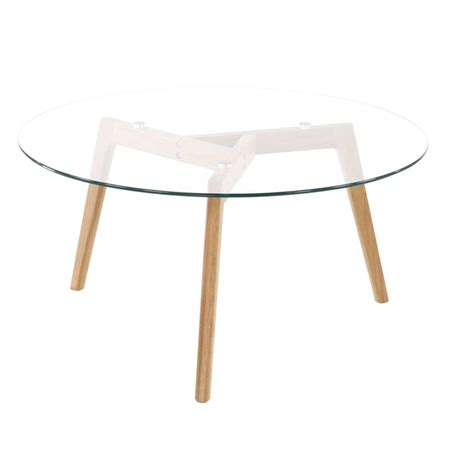 table basse ronde en verre table basse ronde et plateau en verre pixy absolument design