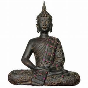 Statue De Bouddha : statue de bouddha tha 30 cm d co asiatique ~ Teatrodelosmanantiales.com Idées de Décoration