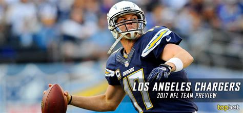 los angeles chargers   team preview odds