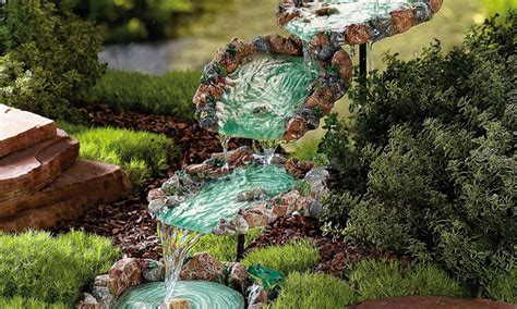 diy gardening 10 diy water fountain to make your garden more appealing the self sufficient living