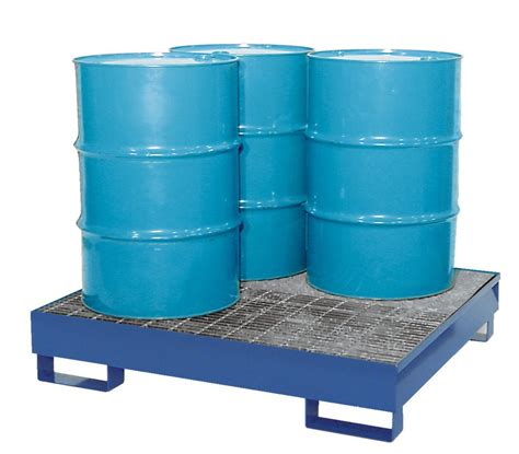 55 gallon drum furniture drum storage and drum spill containment