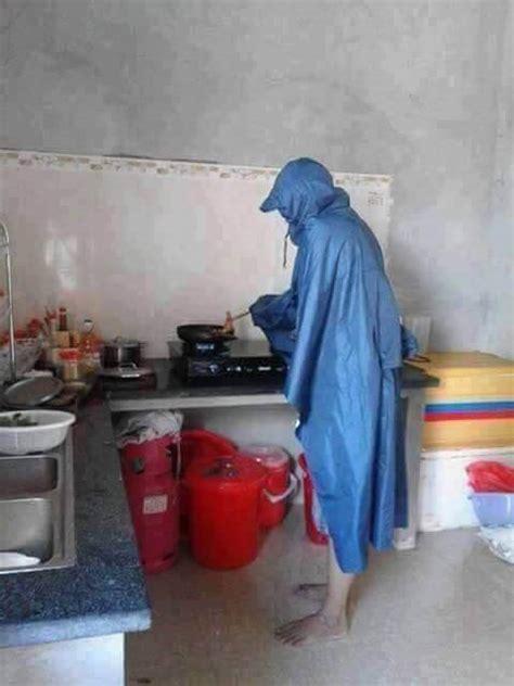lucu abis gimana jadinya kalau laki laki yg memasak