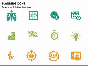 Planning Icons Powerpoint