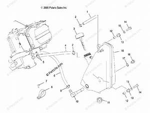 Polaris Atv 2009 Oem Parts Diagram For Engine  Oil System