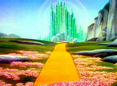 write in color the wonderful wizard of oz emerald city symbolism write