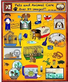 animals pet care  habitat clip art  charlottes