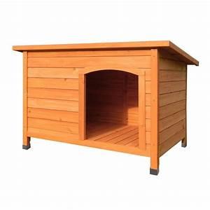 Niche D Intérieur Pour Chien : niche pour chiens toit ouvrant 103 7 x 70 x 66 cm ~ Dallasstarsshop.com Idées de Décoration