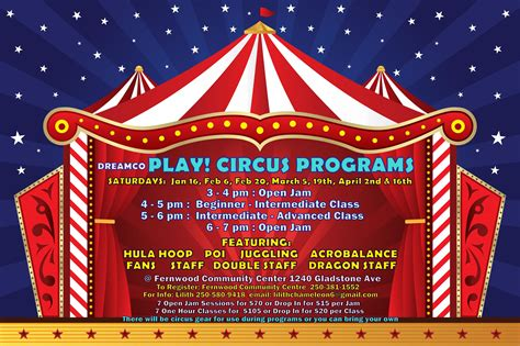 Fernwood NRG - New Circus Program!