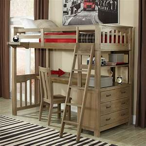 Highlands Twin Loft Bed