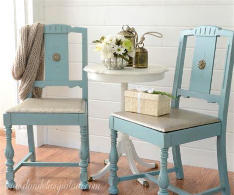 paint colors for wooden chairs sloan chalk paint dandelion patina
