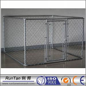wholesale cheap large chain link dog kennel panels With chain link dog kennel panels