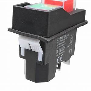 Kjd17 220  Stop No Volt Release Switch