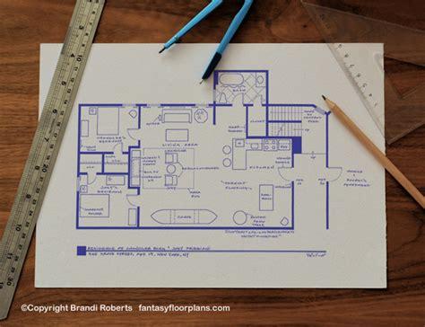 joey  chandler friends apartment floor plan