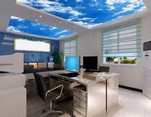 plafonnier de bureau nouveau plafonnier de bureau décoratif imitation ciel au