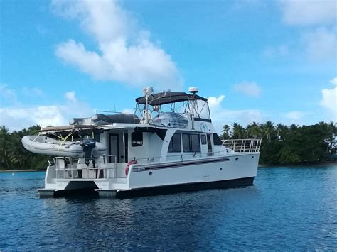 Catamaran Motor Yachts For Sale by 2007 Malcolm Tennant 48 Catamaran Motor Yacht Power Boat