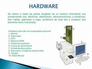 Hardware, software y sistemas operativos