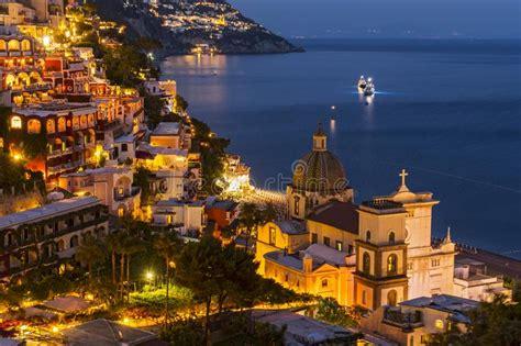 View Of Positano Amalfi Coast Italy Stock Image Image