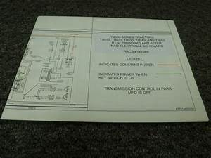 New Holland T8040 T8050 Tractors Electrical Wiring Diagram