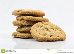 Cookie Isolated On White Background Stock Photo - Image: 40473730