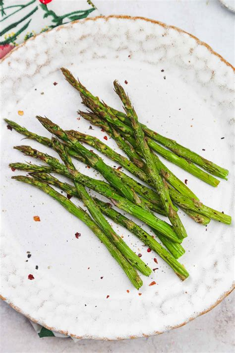 asparagus air fryer serve sunny kitchen crispy