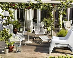 Ikea Mobilier De Jardin : une d co de jardin haute couture d tente jardin ~ Teatrodelosmanantiales.com Idées de Décoration