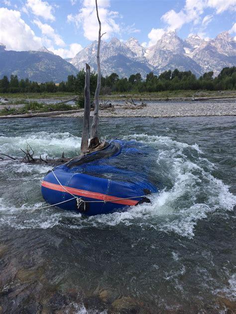rangers caution visitors floating  snake river