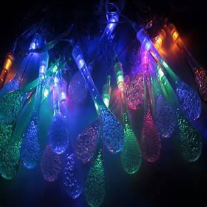 aliexpresscom buy 5m 20 led raindrop led christmas With outdoor string lights in rain