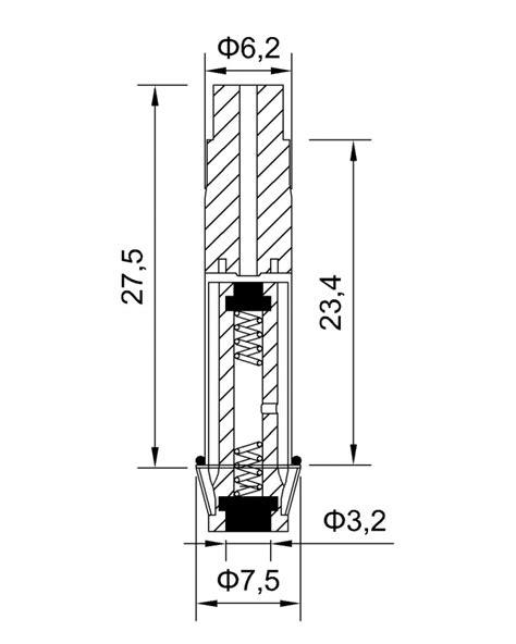 Viton Seal Stainless Steel Tube 3/2 Way NC Solenoid Valve