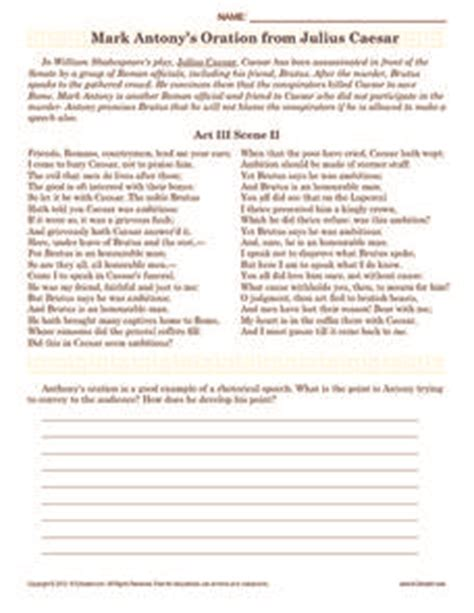 julius caesar worksheets worksheets ratchasima printable
