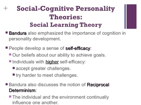 1. Theories Of Personality