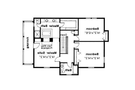 Colonial Floor Plans by Colonial House Plans Rossford 42 006 Associated Designs