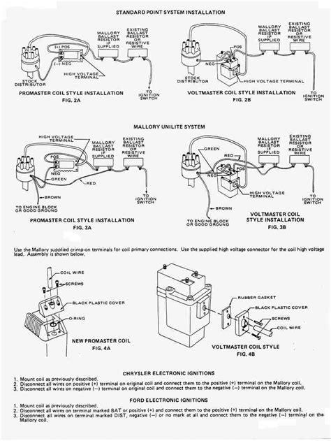 mallory wiring distributor unilite coil hook datsun 240z 68k