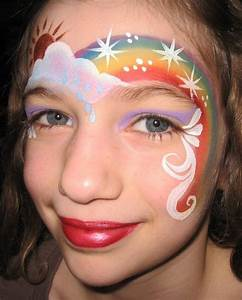 50, , awesome, face, painting, ideas, for, kids