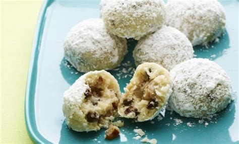 Chocolate Chip Mexican Wedding Cookies Recipe