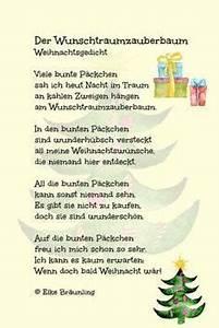 Weihnachtsgedichte Grundschule Der Wunschtraumzauberbaum