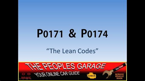 diagnose codes p p lean bank