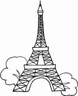 Eiffel Tower Coloring Wonders Seven Easy Paris Drawing Pages Colouring France Getdrawings Paintings French Painting Towers sketch template