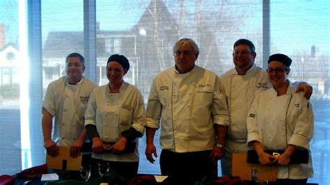 chefs battle   annual chopped competition  roger