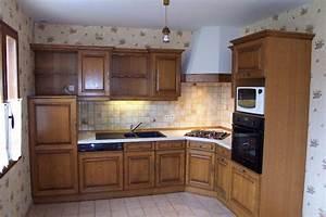 modele de meuble de cuisine idees de decoration With modele de decoration de cuisine
