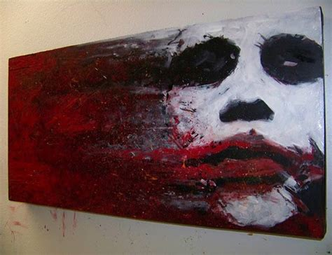 awesome stuff joker oil painting dailypopin