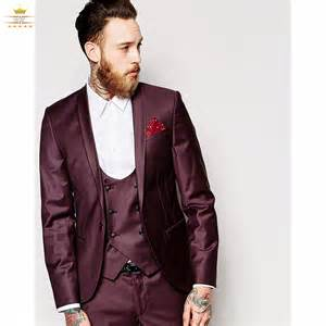 custom wedding suits slim fit suit with custom made burgundy suit wedding suits for one button shawl