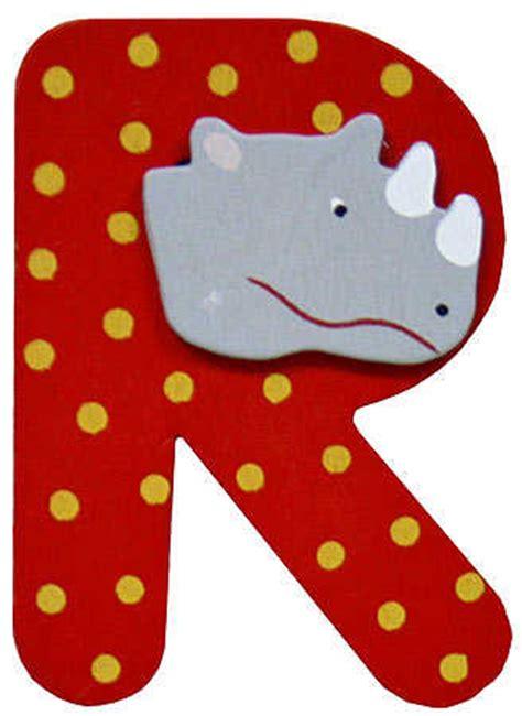 painted alphabet letter  animal scrapbooking