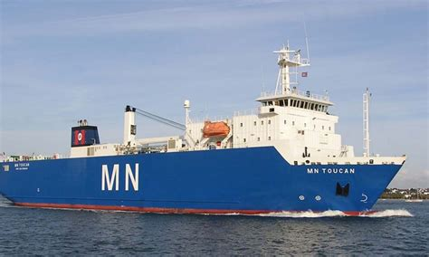 Boat Transport Mn by Mn Toucan Navire Roulier Compagnie Maritime Nantaise