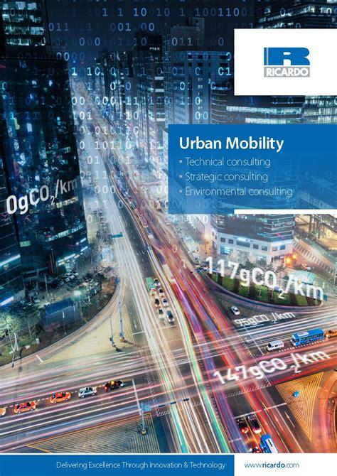 urban mobility brochure global engineering