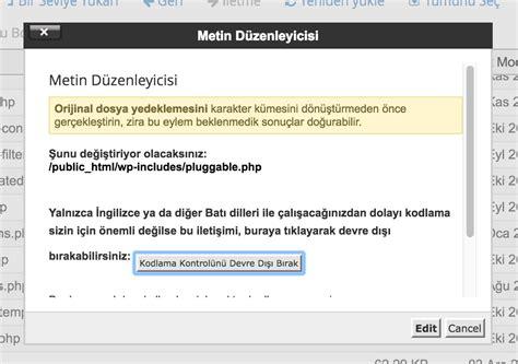 Pluggable.php Hatası Ve Çözümü